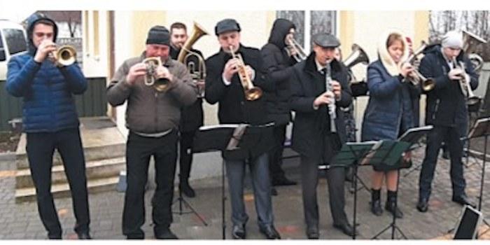 Сільському оркестру адвентистів на Вінниччині – 50 років