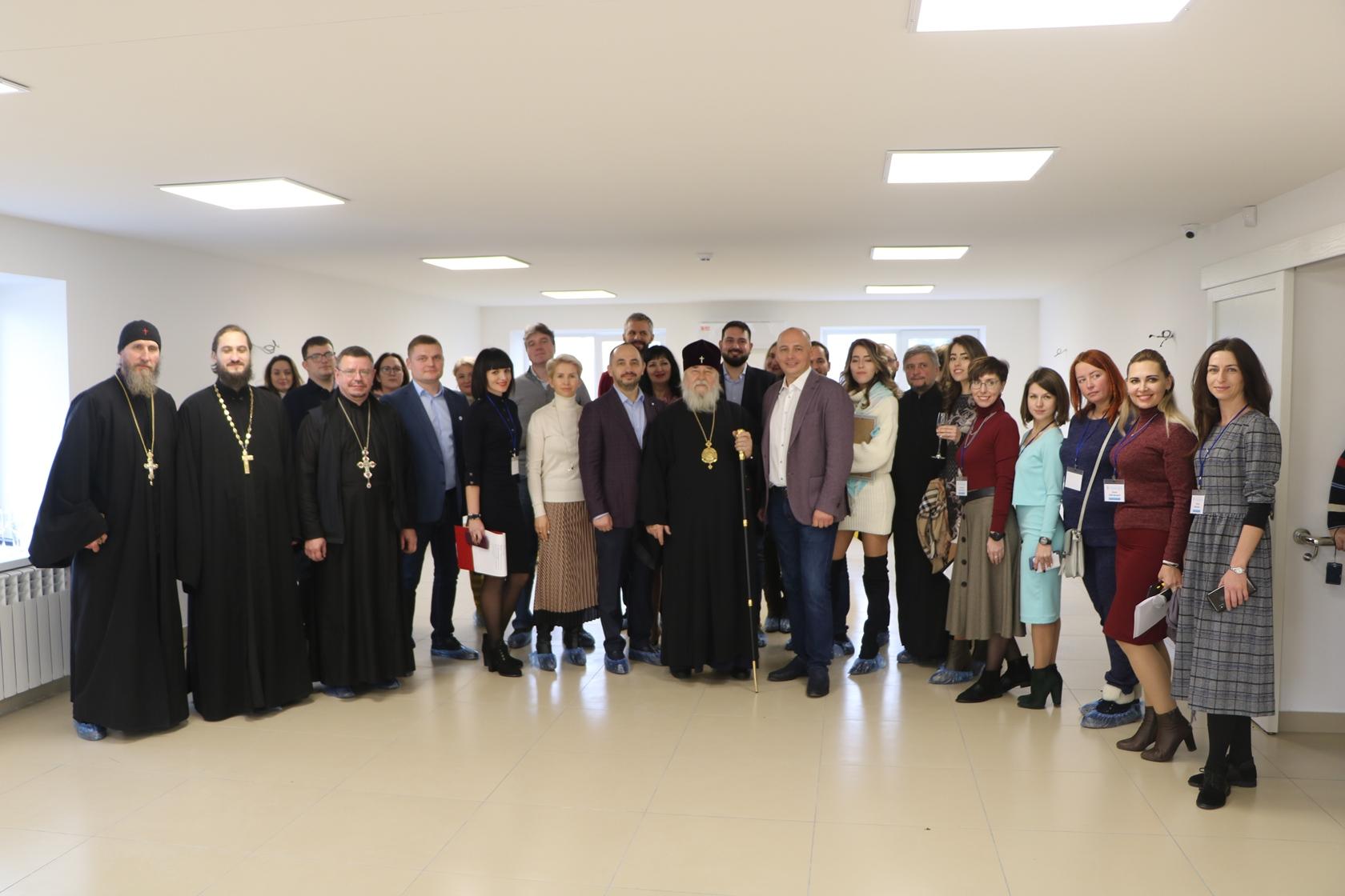 На Дніпропетровщині за підтримки УПЦ (МП) відкрили центр реабілітації для дітей-інвалідів