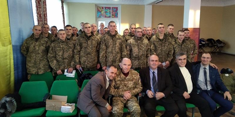 Баптисти організували солдатам ЗСУ різдвяне свято на Одещині