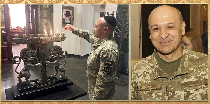 Євреї Дніпра вітають офіцера-юдея з присвоєнням звання «майор»