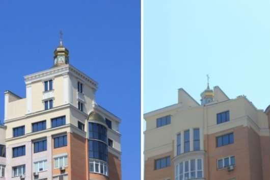 Київська мерія перевірить законність церкви на даху будинку