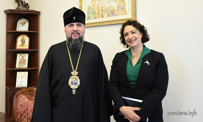 Глава ПЦУ обговорив з послом Великобританії міжконфесійні відносини в Україні та світі