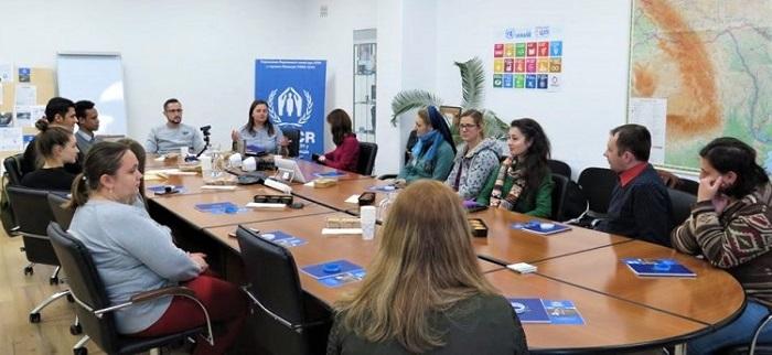 Католицькі місіонерки провели в Борисполі семінар для роботи з біженцями