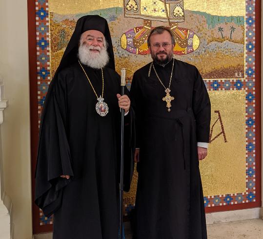 Александрійський патріарх сказав, що якщо розрізати його серце, там буде Україна