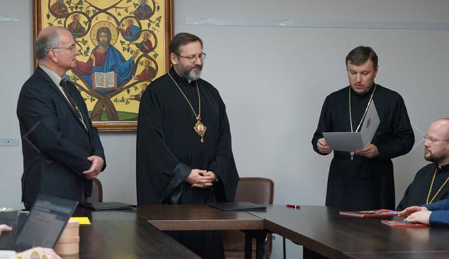 УГКЦ та Спілка української молоді підписали меморандум про співпрацю