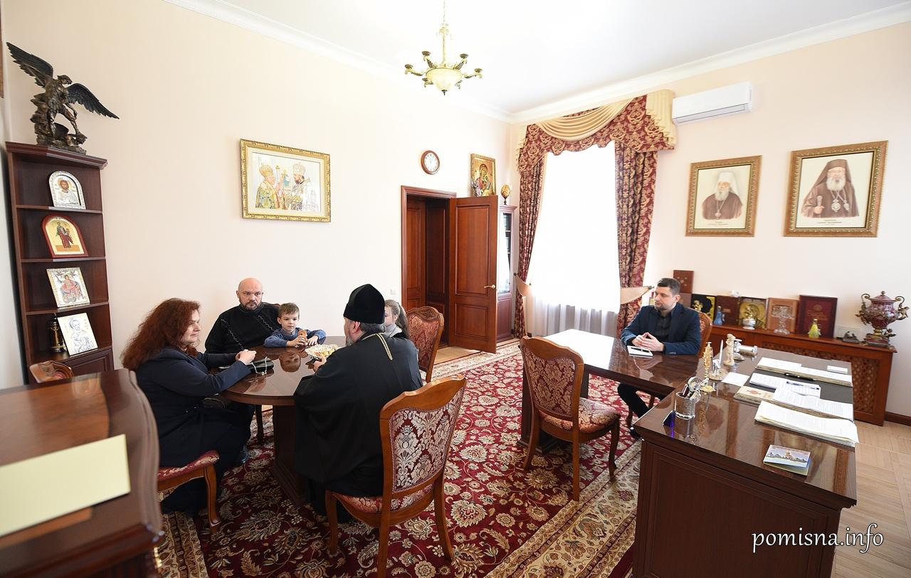 Глава ПЦУ обговорив з новопризначеним послом України в Йорданії ситуацію на Близькому Сході