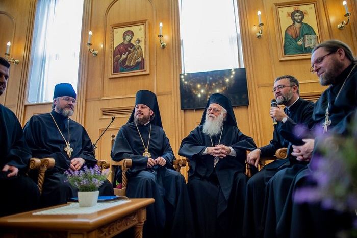 Ієрархи УПЦ (МП) відвідали предстоятелів Албанської, Сербської та Російської Церков