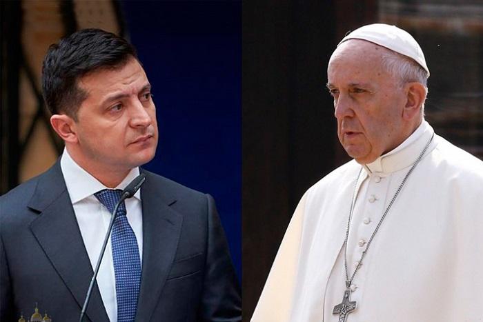 Володимр Зеленський зустрінеться з папою Римським