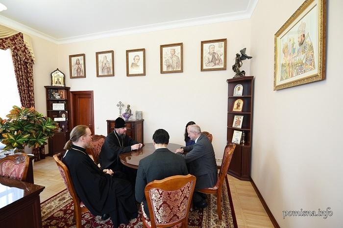Митрополит Епіфаній обговорив з послом ЄС виклики для України та ПЦУ