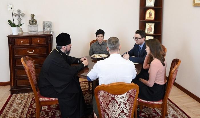 Глава ПЦУ обговорив з представником президента в Криму ситуацію на окупованих територіях