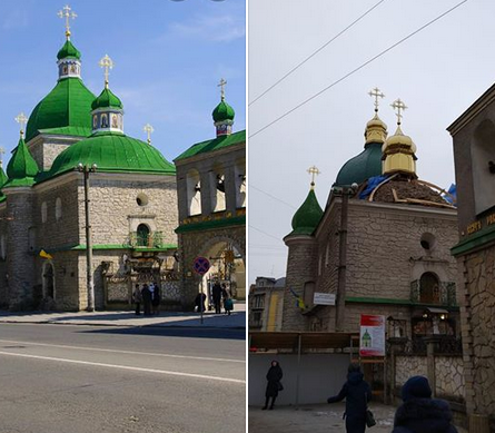 Кафедральний собор ПЦУ у Тернополі втратив автентичний вигляд пам