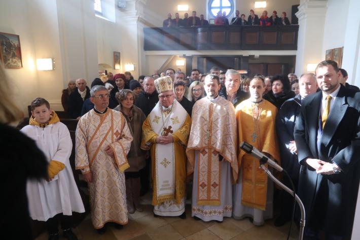 УГКЦ провела у Словаччині першу архиєрейську літургію українською мовою