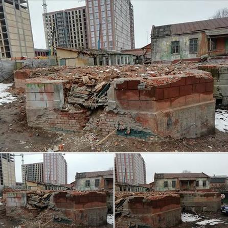 У Дніпрі руйнують залишки церкви початку ХХ ст.