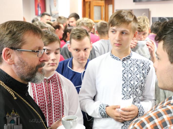 Глава УГКЦ запросив дітей і батьків до неконфесійної католицької школи у Києві