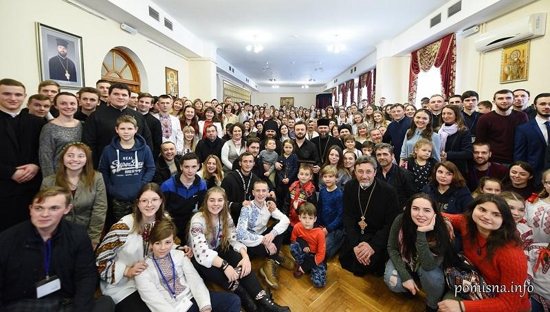 Глава ПЦУ виступив на Всеукраїнському з'їзді православної молоді