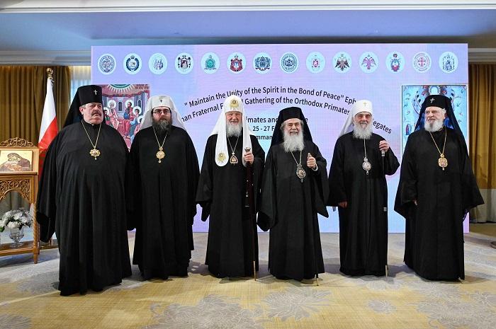 Встреча в Аммане закончилась призывом к всеправославному диалогу по украинской автокефалии