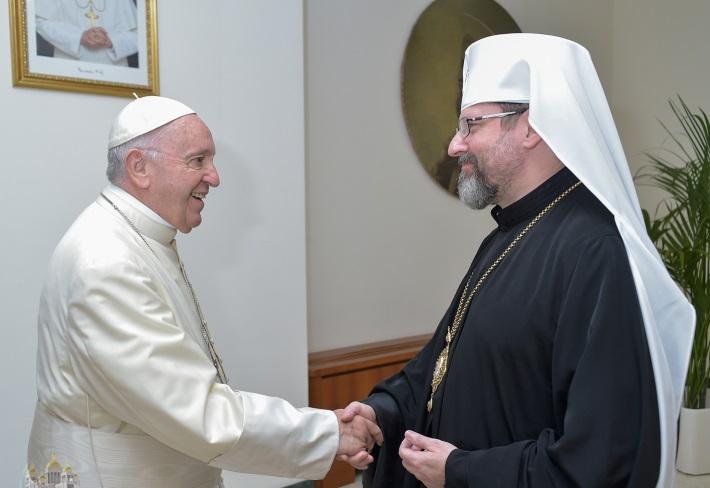 Папа Франциск про Україну: «Не тимчасові перемир'я, але щире прагнення порозуміння та діалогу можуть принести їй мир»