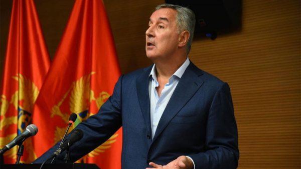 Президент Чорногорії піддав критиці протести, до яких долучився глава УПЦ (МП)