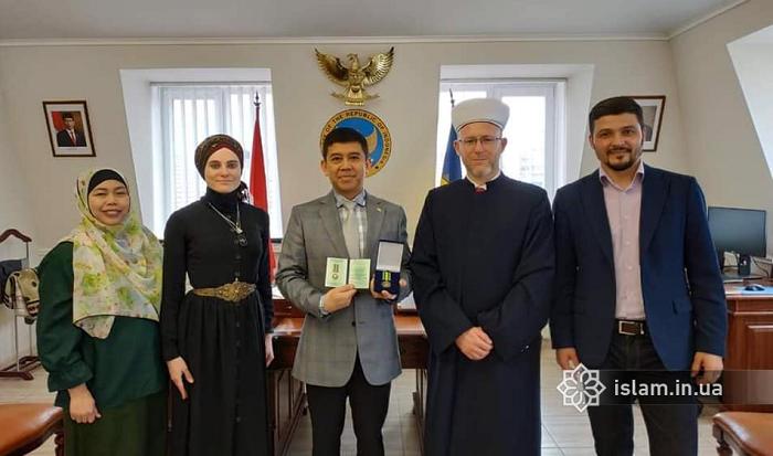 Послові Індонезії вручено відзнаку українських мусульман