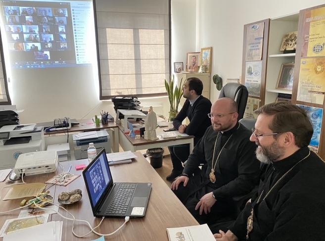 Глава УГКЦ провів онлайн-зустріч зі священниками з 12 країн щодо душпастирства в умовах карантину