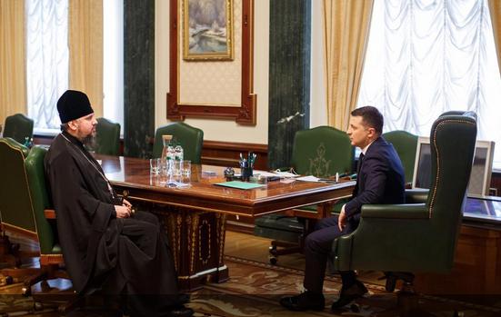 Президент України і глава ПЦУ двічі за останні тижні обговорювали шляхи подолання епідемії