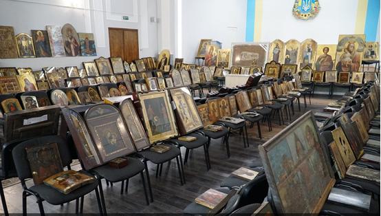 Поліція Тернопільщини просить допомогти встановити власників крадених ікон