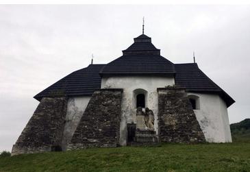 На Івано-Франківщині зберігся муровано-дерев'яний храм XIV століття