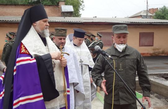 У військовій частині Вінниці постане храм ПЦУ на честь святого Юрія Переможця