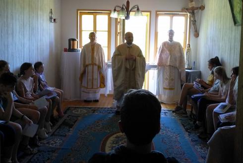 В Естонії розпочався літній християнський табір для дітей українців з Балтії