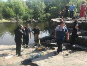 Священник-підводник витягнув утопленого підлітка на Черкащині