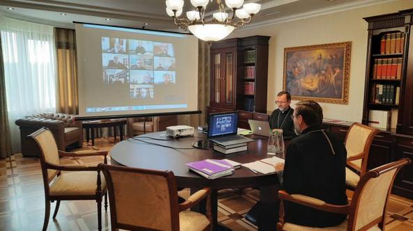 Єпископи УГКЦ розглянули онлайн нові богослужбові переклади і надання допомоги постраждалим від епідемії та природних катаклізмів