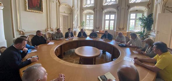 УГКЦ обговорює з головою ЛОДА та мером Львова реконструкцію Свято-Юрського комплексу