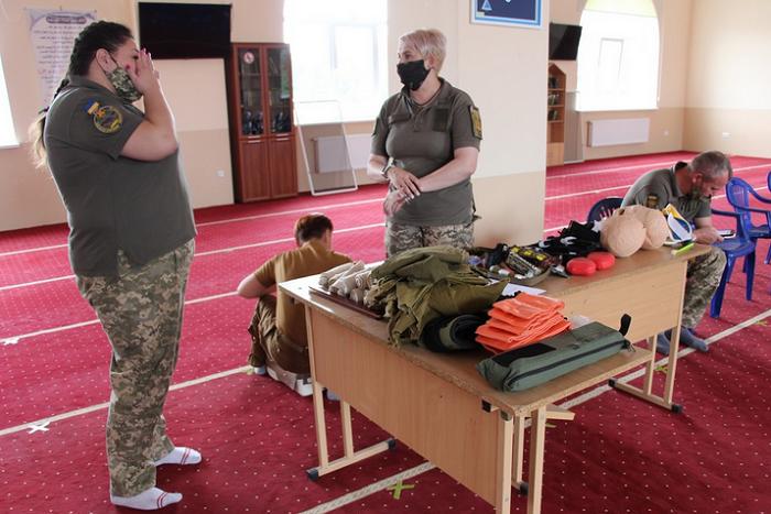Військовослужбовці, мусульмани та православні взяли участь у тренінгу з надання першої медичної допомоги