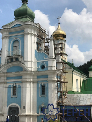 """На Тернопільщині реставрують під """"московський"""" стиль старовинний костел"""