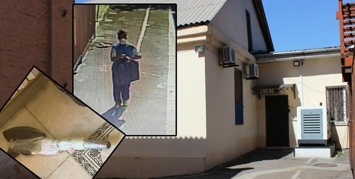 Поліція розшукує нападника на синагогу в Маріуполі
