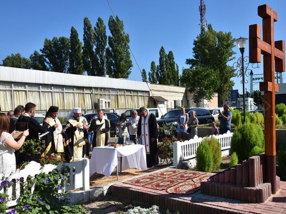 На Одещині зводять новий храм УГКЦ