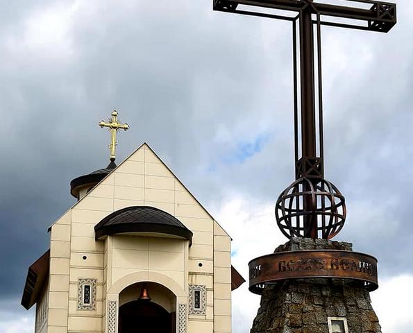 Відбулася літургія у «найвищій точці Православ'я України»
