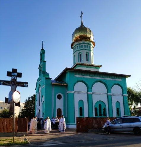В Румунії освятили нову церкву Українського православного вікаріату