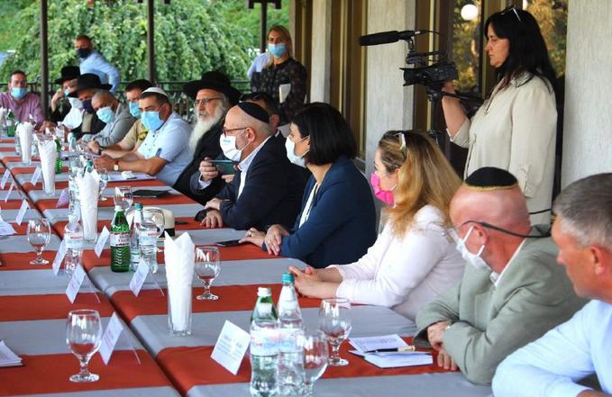 Голова Черкаської обладміністрації обговорив з послом Ізраїлю умови для паломництва хасидів в Умань