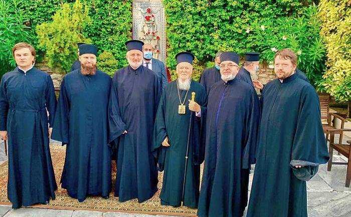Патріарх Варфоломій обговорив розвиток Слов