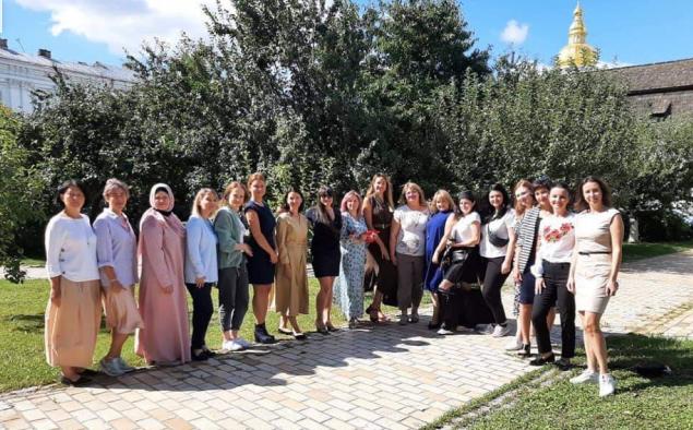 Мусульманки захищали свої бізнес-плани в проєкті ПЦУ «Бізнес-школа для жінок-ВПО»
