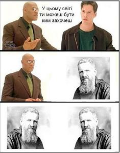 Священника УГКЦ образив сатиричний плакат на Андрея Шептицького