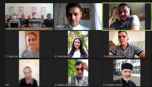 Студенти греко-католики провели першу онлайн-зустріч із вихованцями Кременчуцької колонії