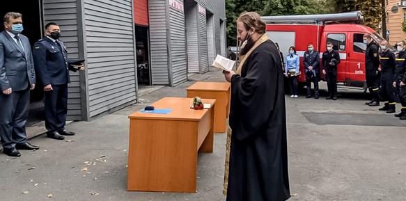 Київські рятувальники нагороджені орденами УПЦ (МП)