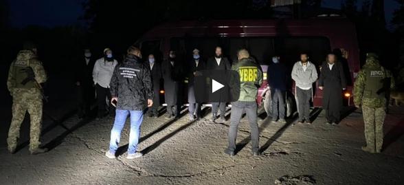 Прикордонники затримали групу хасидів: добиралися з Умані інкогніто