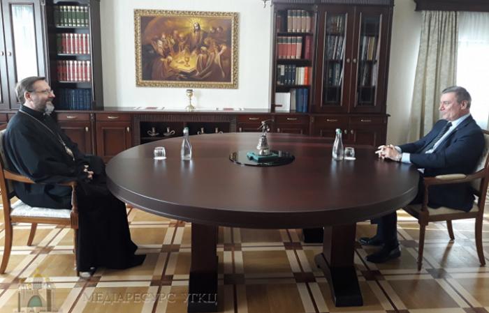 Глава УГКЦ обговорив з віцепрем'єр-міністром питання оброни України