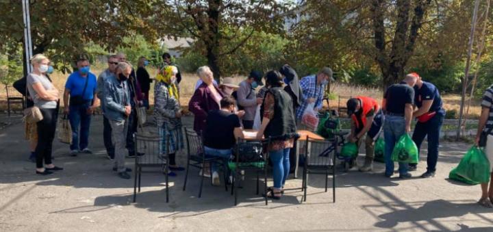 Греко-католики провели акцію «Нагодуй голодного» у Вознесенську