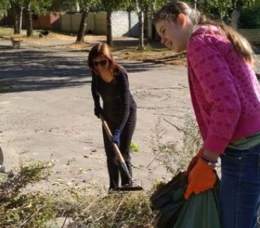 Адвентисти Чугуєва допомогли у прибиранні свого міста