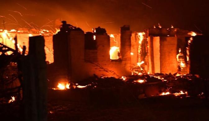 Біля Сєверодонецька згорів Дім молитви баптистів