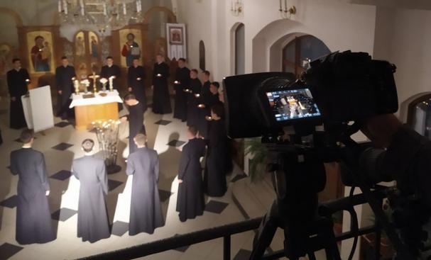 Презентовано перший кліп із серії відеокомпозицій хору семінаристів УГКЦ «Оранта»